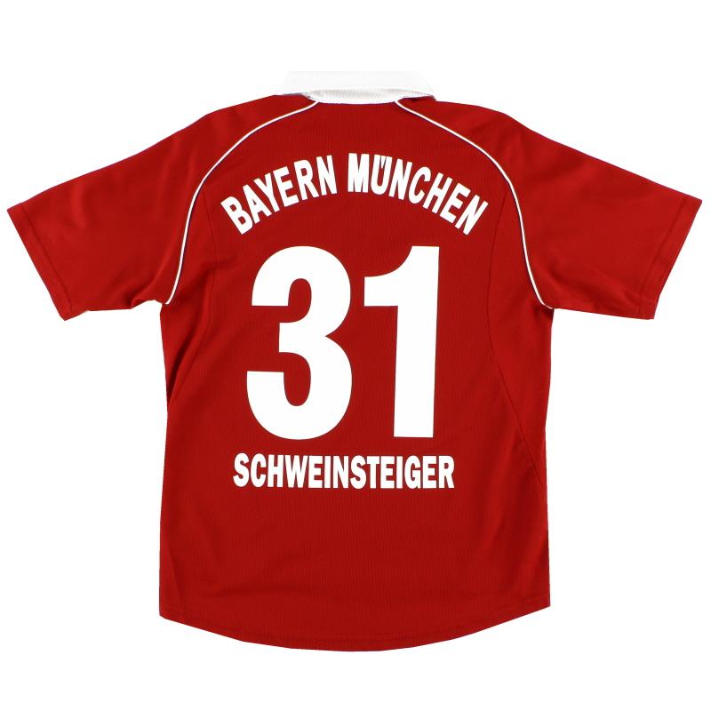 2005-06 Bayern Munich Shirt Schweinsteiger #31 XL.Boys
