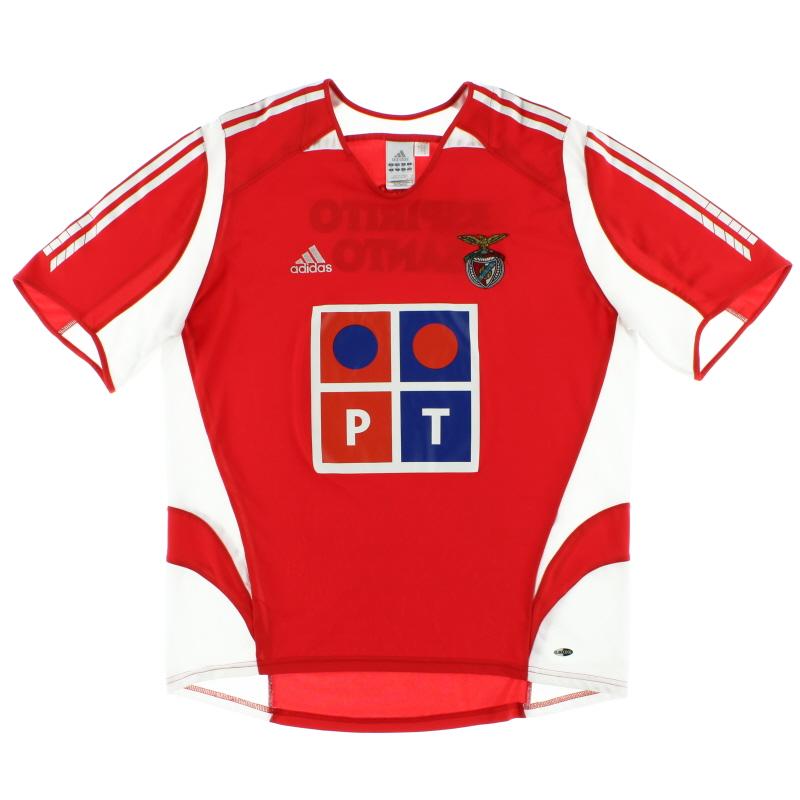 2005-06 Benfica Home Shirt XL - 109929