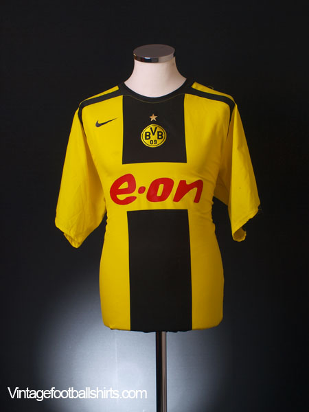 2005-06 Borussia Dortmund Home Shirt XL