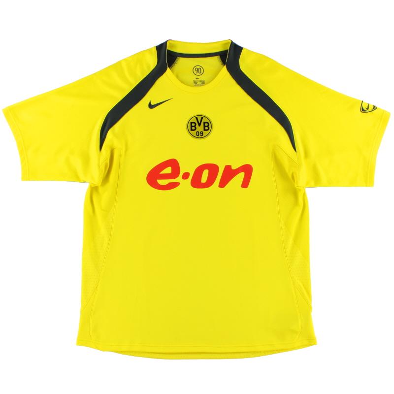 2005-06 Borussia Dortmund Nike Training Shirt L