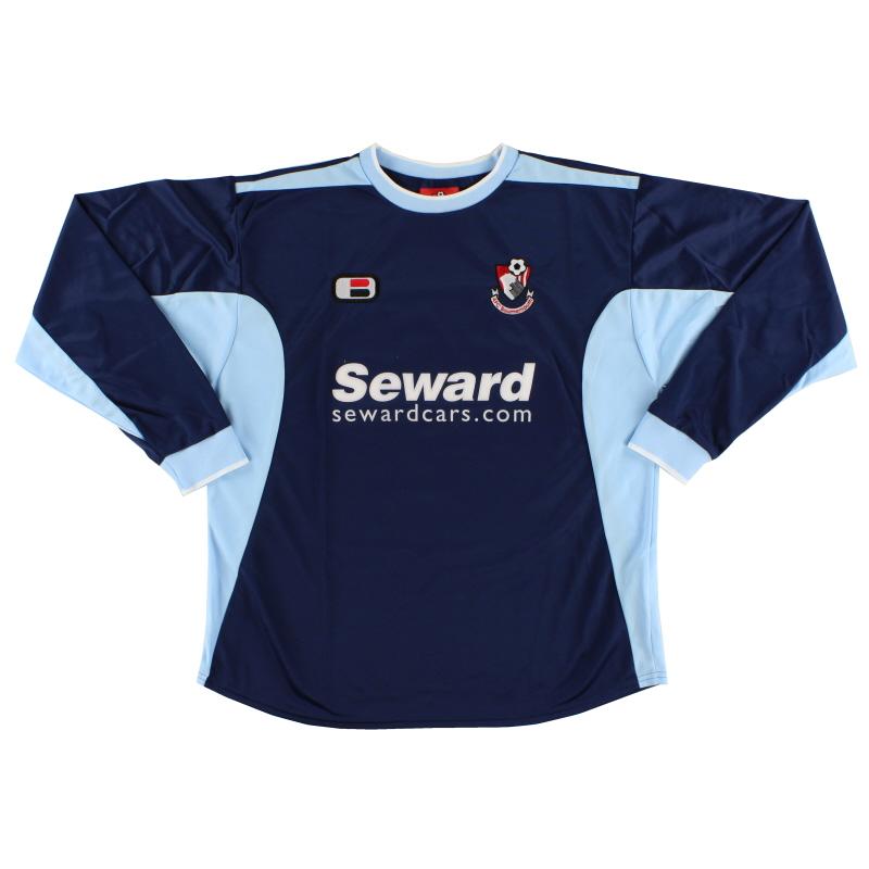 2005-06 Bournemouth Away Shirt L/S  XL