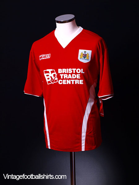 2005-06 Bristol City Home Shirt *BNWT* M