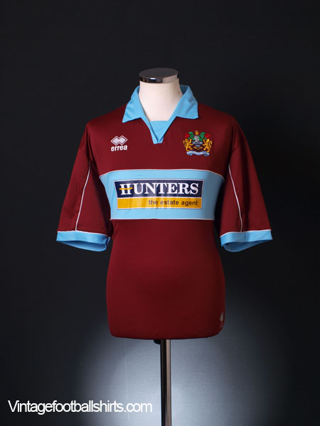 2005-06 Burnley Home Shirt L
