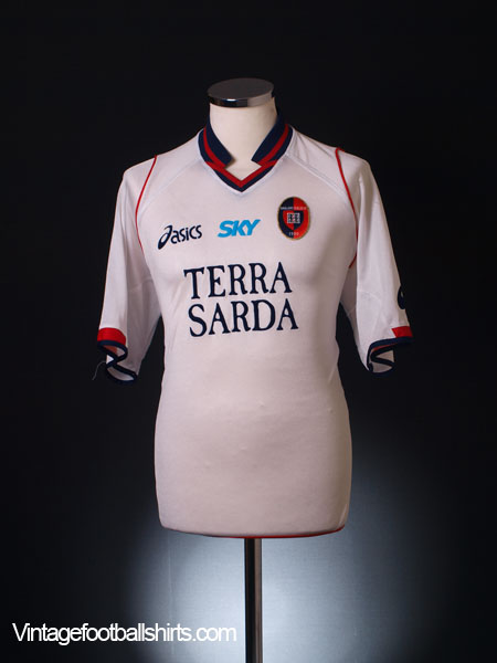 2005-06 Cagliari Away Shirt L