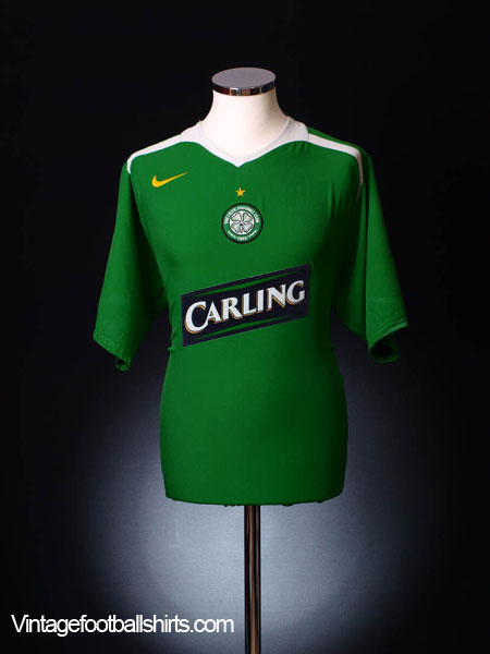 2005-06 Celtic Away Shirt M