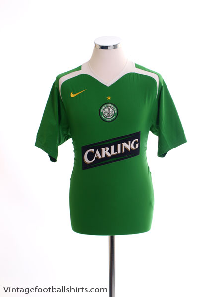 2005-06 Celtic Away Shirt *Mint* L