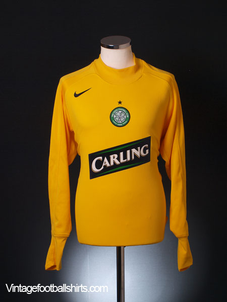 2005-06 Celtic Goalkeeper Shirt XL