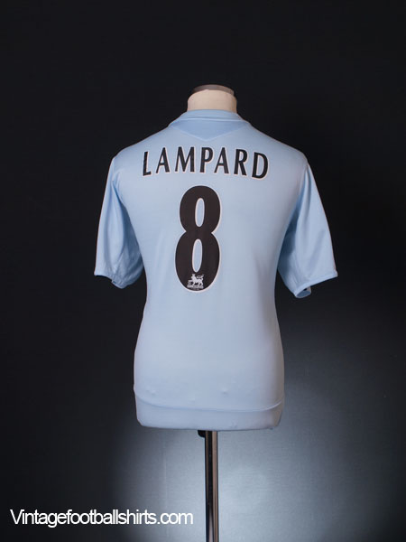 2005-06 Chelsea Away Shirt Lampard #8 L