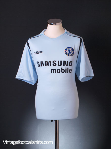 2005-06 Chelsea Away Shirt XL.Boys