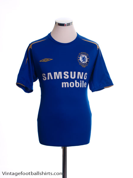 2005-06 Chelsea Centenary Home Shirt S