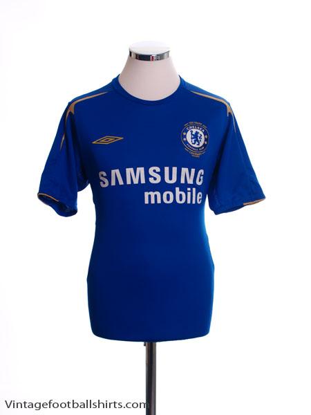 2005-06 Chelsea Centenary Home Shirt L