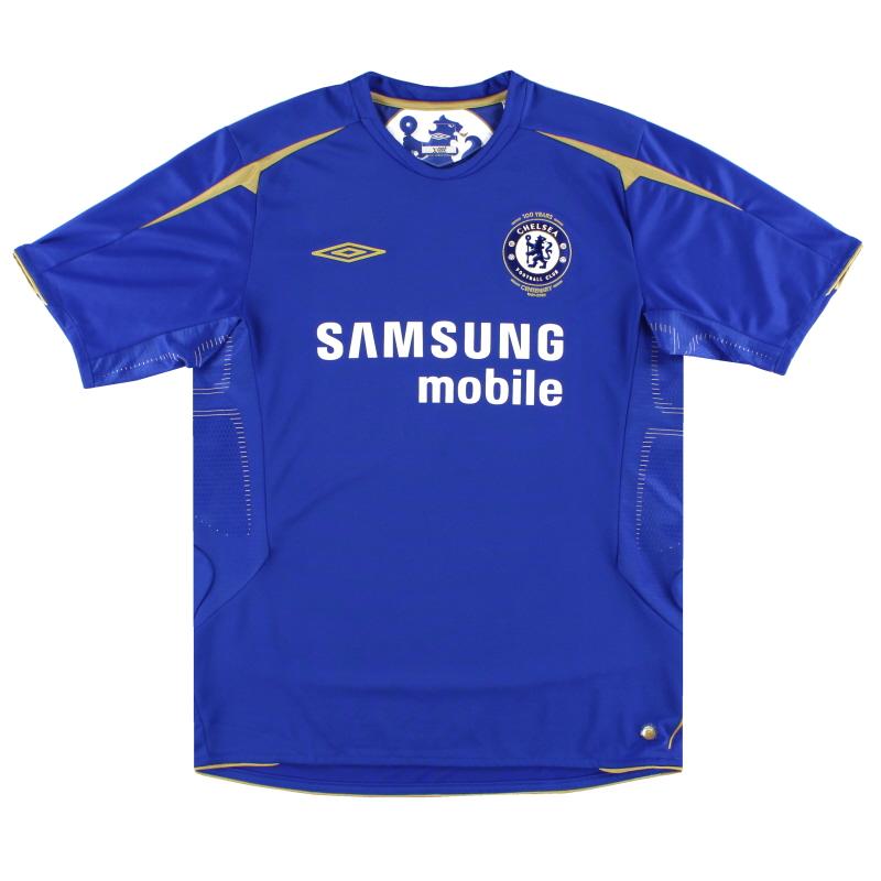 2005-06 Chelsea Centenary Home Shirt XL.Boys