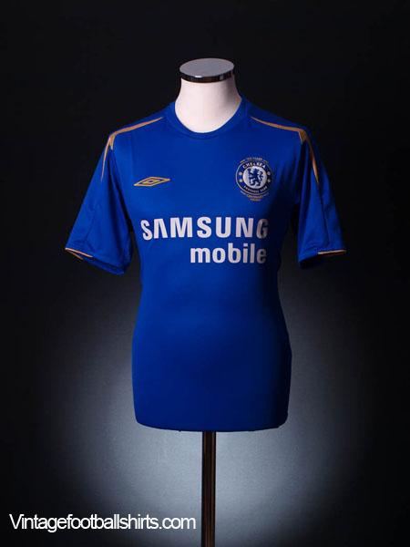 2005-06 Chelsea Centenary Home Shirt M