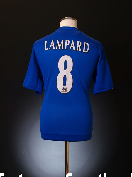 2005-06 Chelsea Centenary Home Shirt Lampard #8 L.Boys