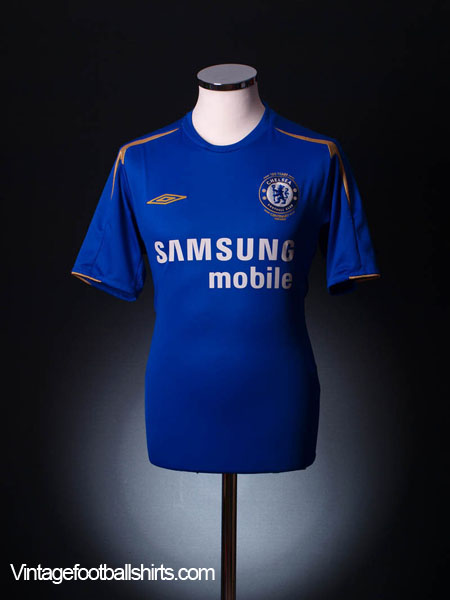 2005-06 Chelsea Centenary Home Shirt S