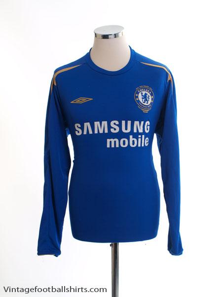 2005-06 Chelsea Home Shirt L/S L