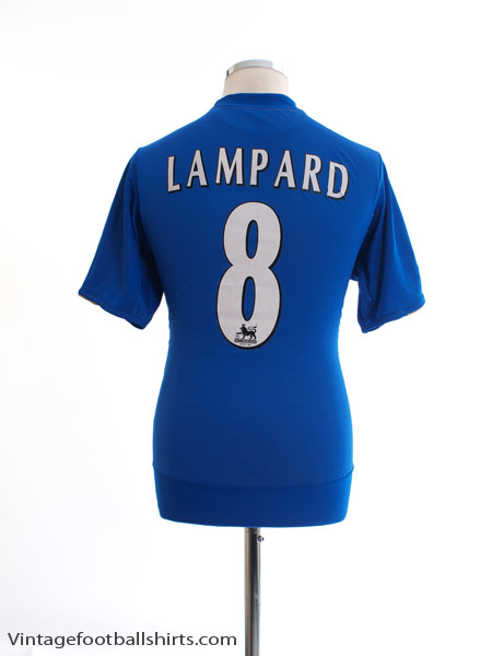 2005-06 Chelsea Home Shirt Lampard #8 M