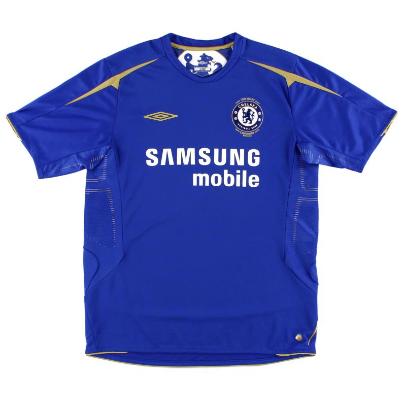 2005-06 Chelsea Umbro Centenary Home Shirt *As New* L
