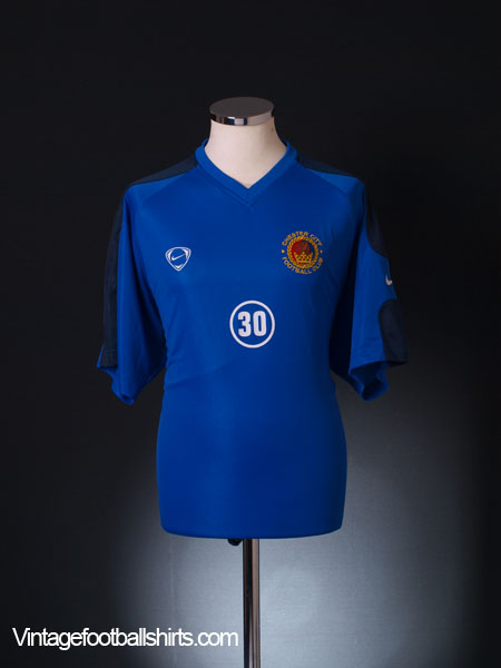 2005-06 Chester Player Issue Training Shirt #30 XL