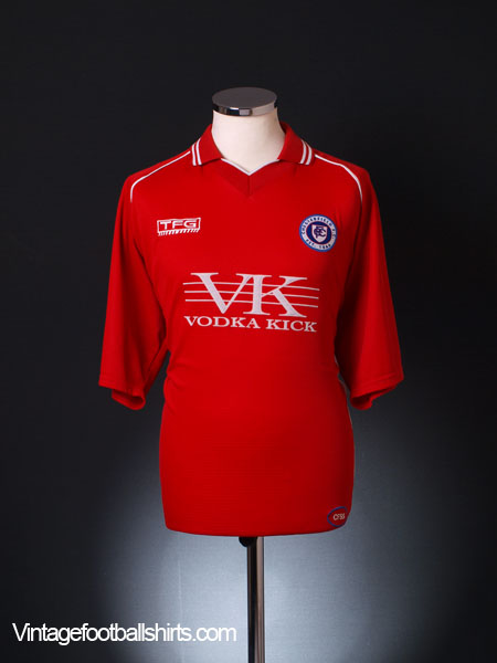 2005-06 Chesterfield Away Shirt XL
