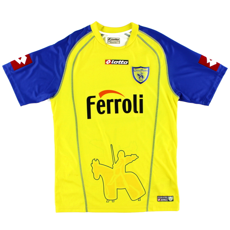2005-06 Chievo Verona Home Shirt M