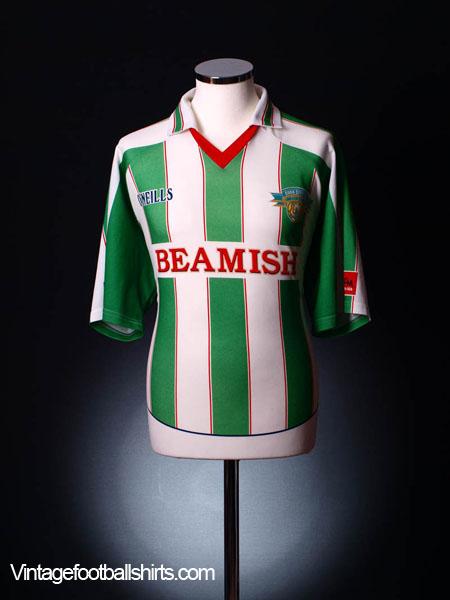 2005-06 Cork City Home Shirt *As new* XL.Boys