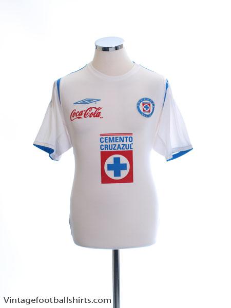2005-06 Cruz Azul Away Shirt M