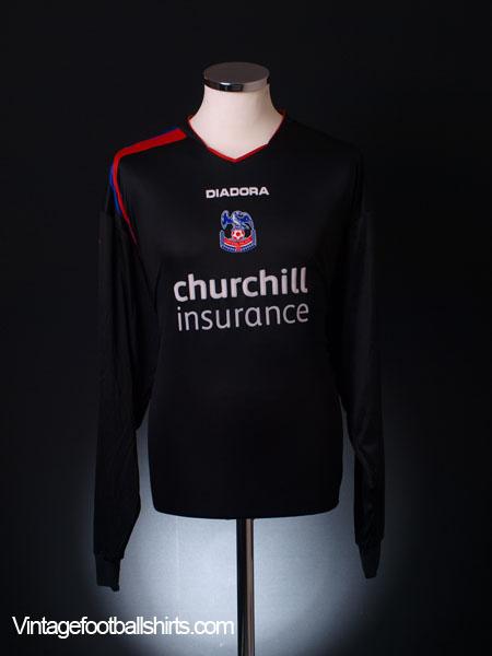 2005-06 Crystal Palace Away Shirt L/S XXL