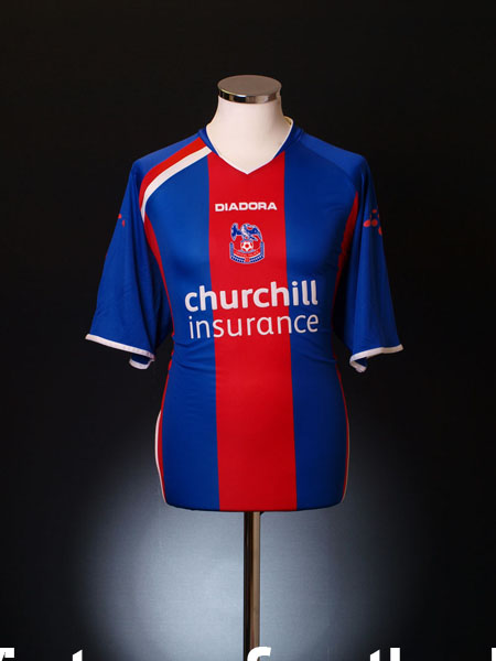 2005-06 Crystal Palace Home Shirt *Mint* L