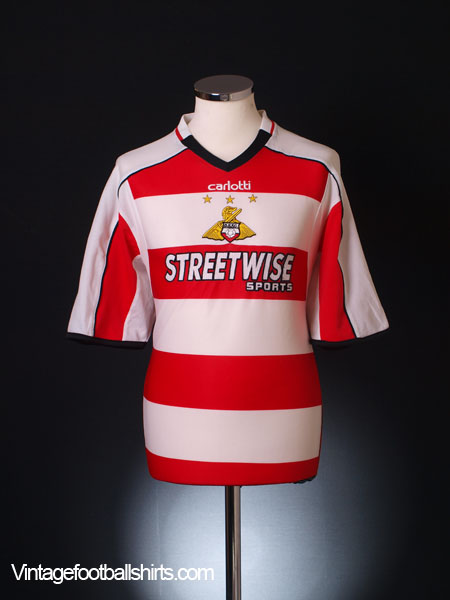 2005-06 Doncaster Rovers Home Shirt L