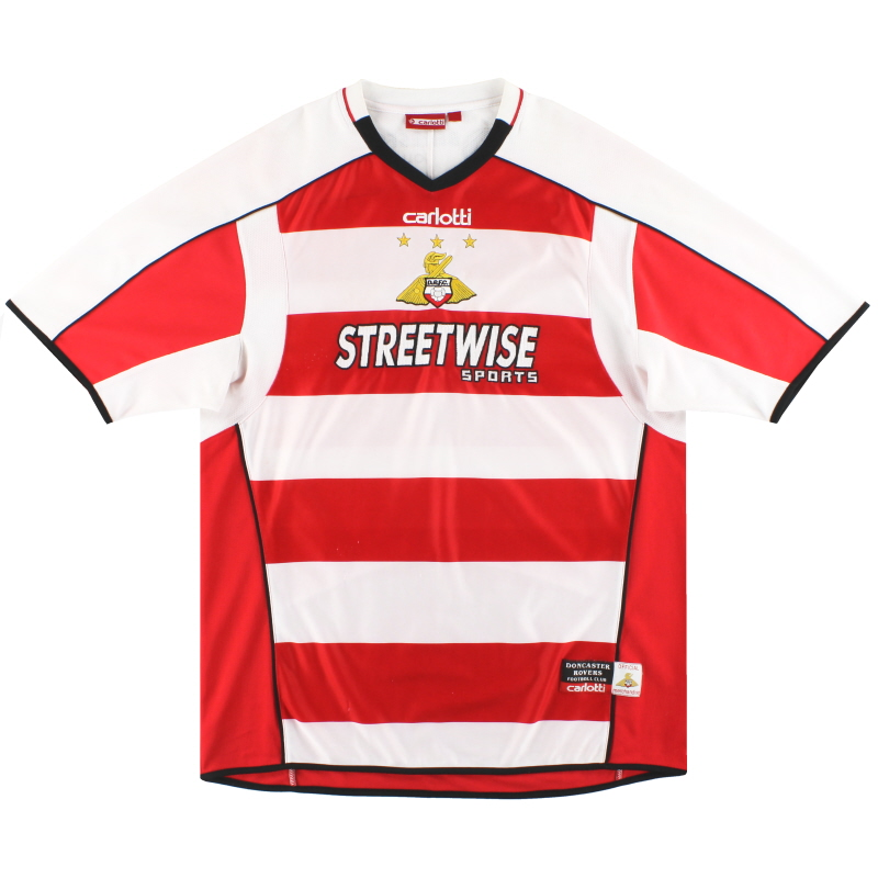 2005-06 Doncaster Rovers Home Shirt XL