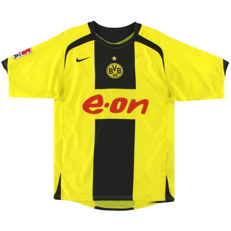 2005-06 Dortmund Nike Home Shirt S - 195754