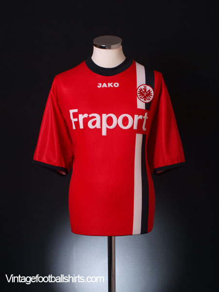 2005 06 eintracht frankfurt home shirt s for sale. Black Bedroom Furniture Sets. Home Design Ideas