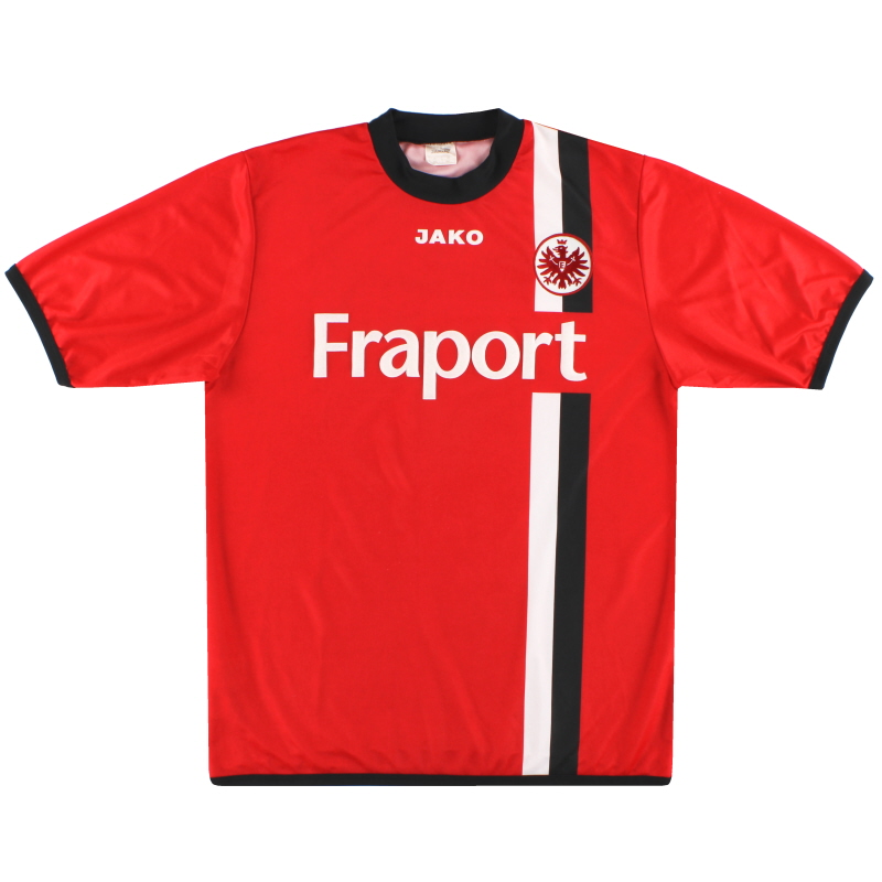 2005-06 Eintracht Frankfurt Jako Home Shirt M/L
