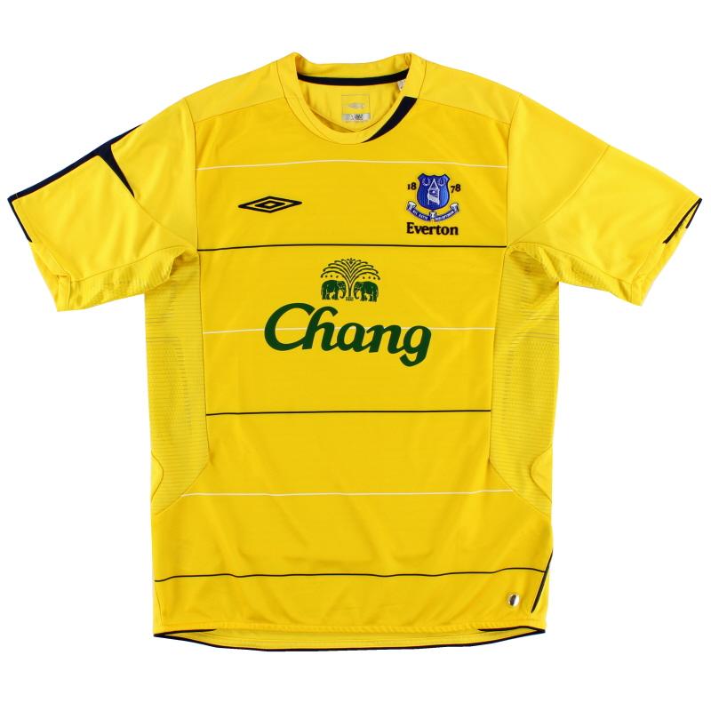 2005-06 Everton Third Shirt *As New* L
