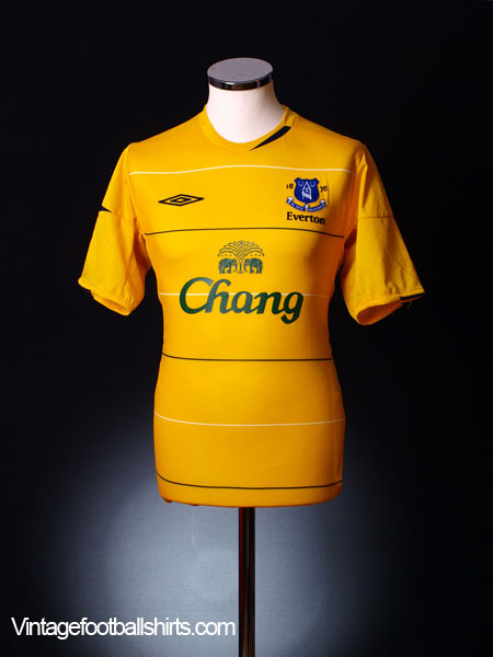 2005-06 Everton Third Shirt *Mint* XL