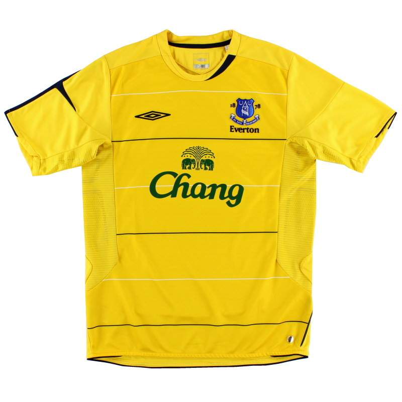 2005-06 Everton Third Shirt XL.Boys