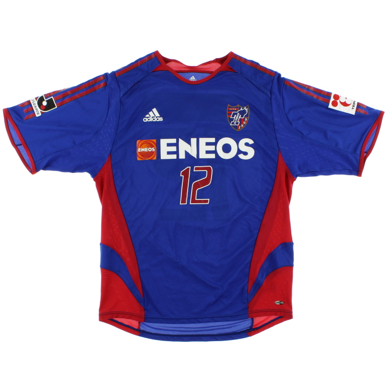 2005-06 FC Tokyo Player Issue Home Shirt #12 L - 184533