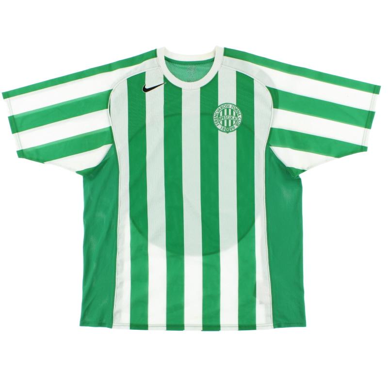2005-06 Ferencvaros Home Shirt XL - 118989