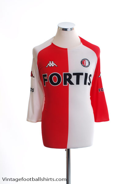 2005-06 Feyenoord Home Shirt *Mint* XXXL