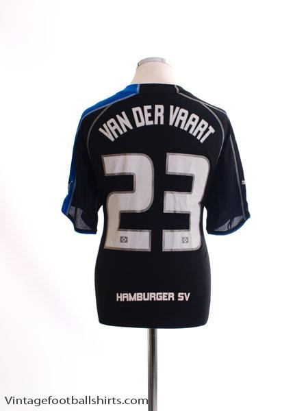 2005-06 Hamburg Away Shirt van der Vaart #23 XL