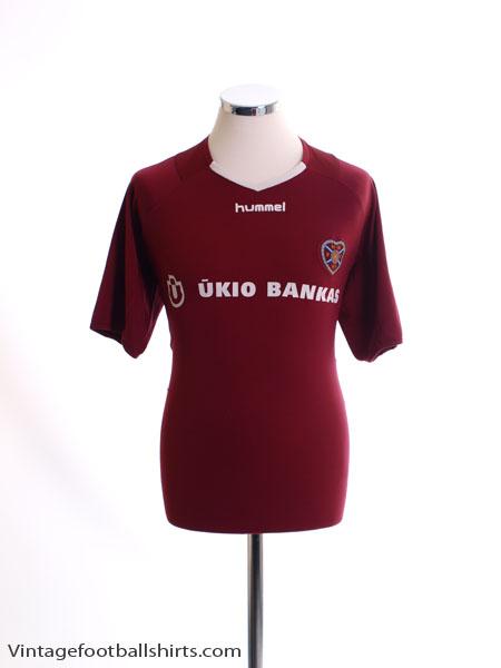 2005-06 Hearts Home Shirt XL