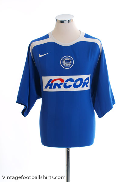 2005-06 Hertha Berlin Home Shirt *Mint* XL