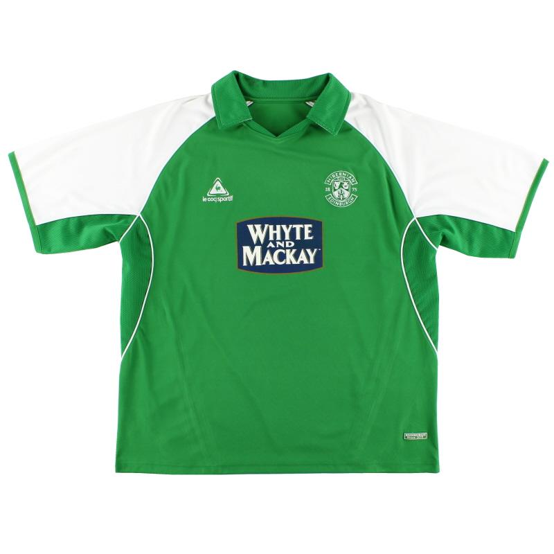 2005-06 Hibernian Home Shirt XXL