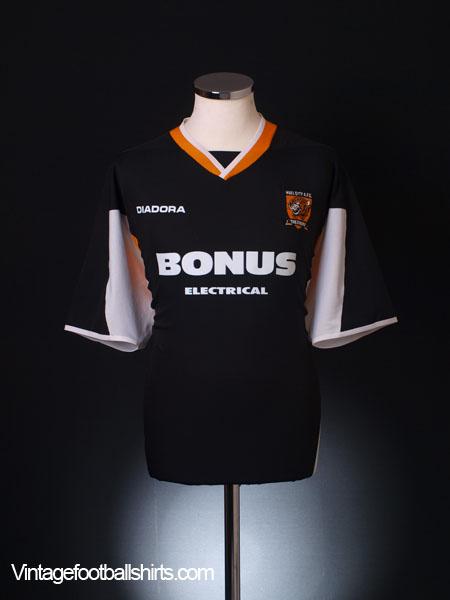 2005-06 Hull City Away Shirt L