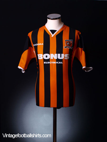2005-06 Hull City Home Shirt S