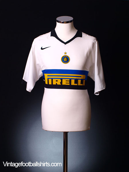 2005-06 Inter Milan Away Shirt L
