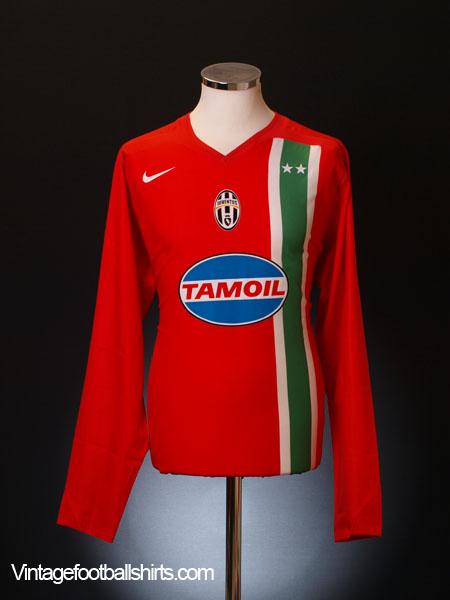 2005-06 Juventus Away Shirt L/S XL