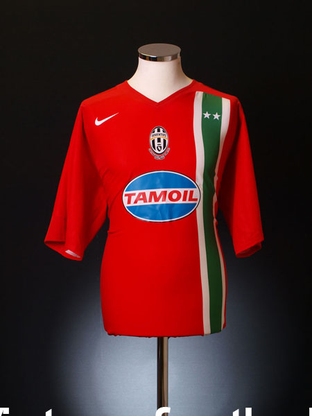 2005-06 Juventus Away Shirt S
