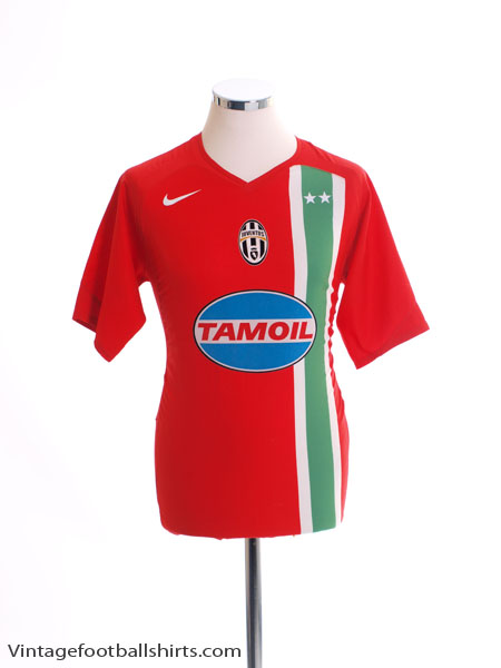 2005-06 Juventus Away Shirt *Mint* M
